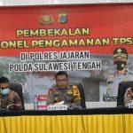 Pilkada 2020,  Polda Sulteng Siapkan 735 Personil untuk Mengamankan TPS